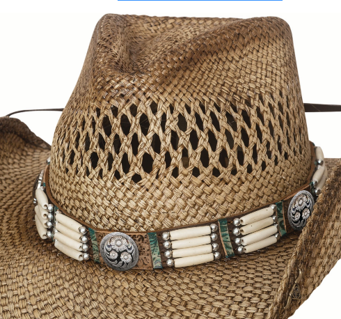 Bullhide Hats Panama Straw Dawn To Dusk #5002911