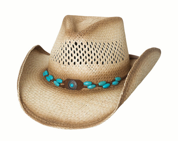 Bullhide Hats Genuine Panama Straw #5002980