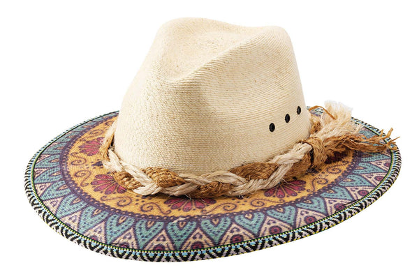 Bullhide Hats Palm Leaf Dreamville #5005025