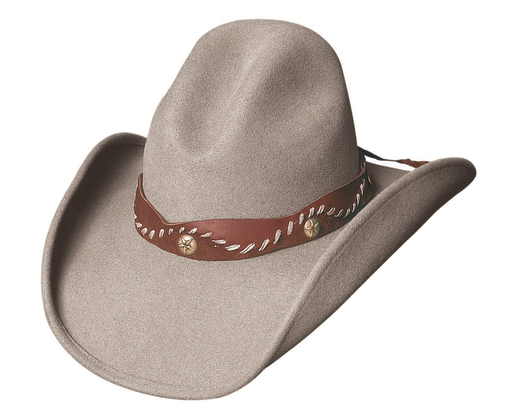 Bullhide Hats 0370S Fashion Felt Pistol Creek Sand