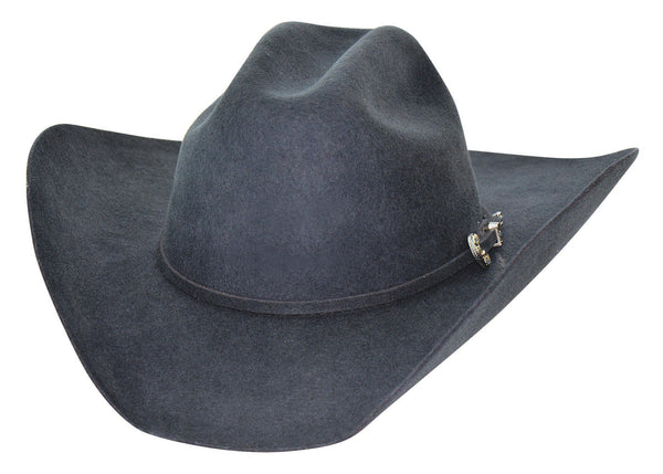 Bullhide Hats 0550G Felt Rodeo Kingman 4X Grey