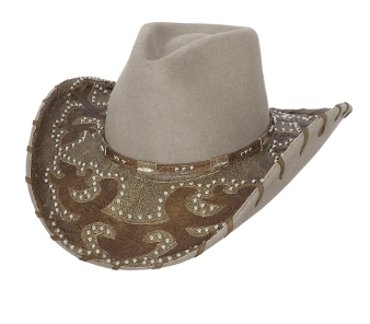 Bullhide Hats 0575 Decorated Felt Ultimage Cowgirl