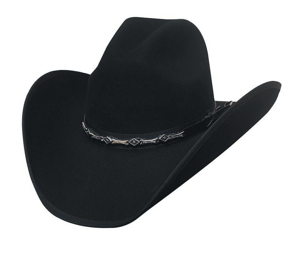 Bullhide Hats 0663BL Felt Rodeo Big Shot 8X Black