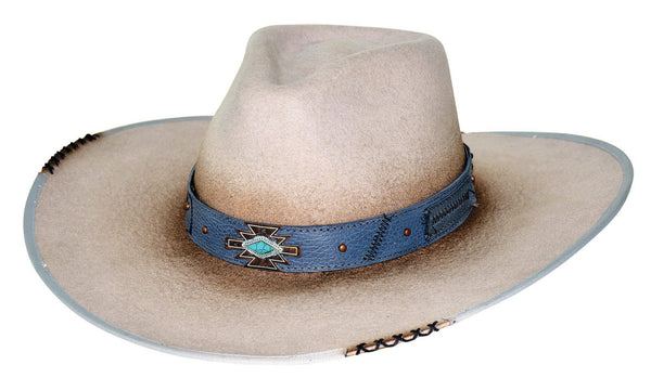Bullhide Hats 0769 Fashion Felt Messed Up Silverbelly