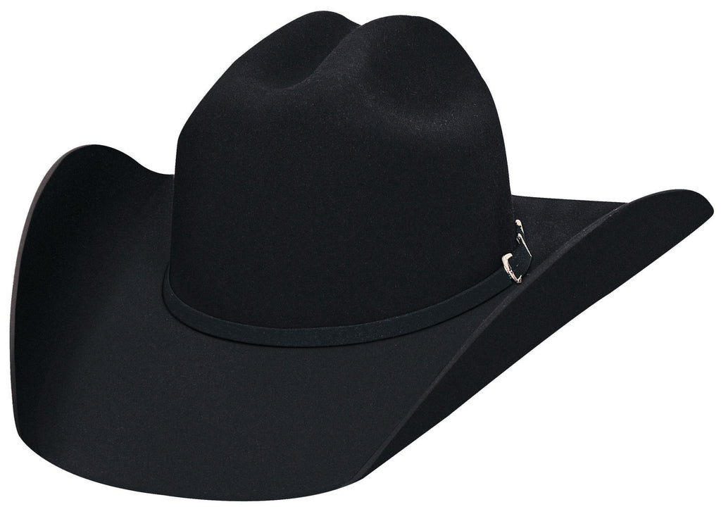Bullhide Hats 3000BL Felt Rodeo Appaloosa Black