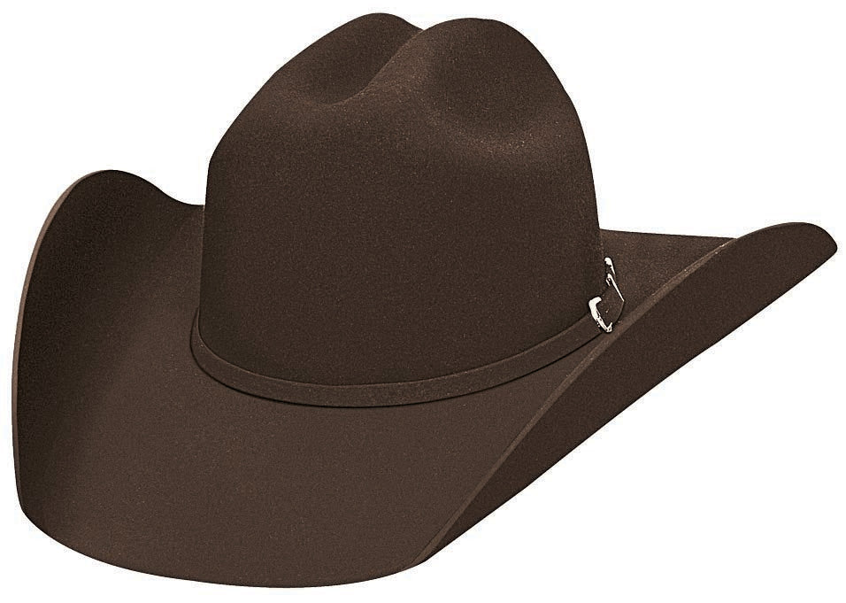 Bullhide Hats 3000CH Felt Rodeo Appalooosa Chocolate