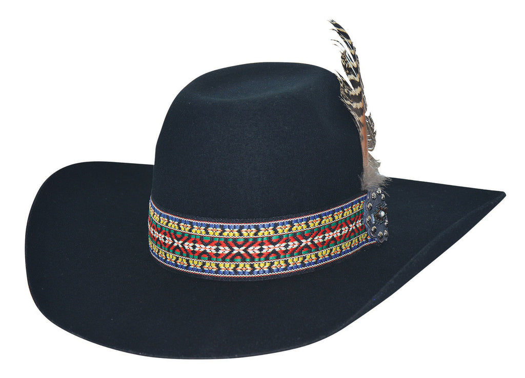 Bullhide Hats 0771 Fashion Felt Feather Dance Black
