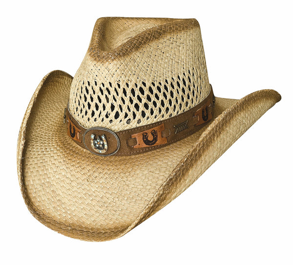 Bullhide Hats Lucky Strike Front