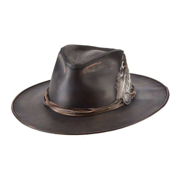 Bullhide Hats Leather One Off #5004084