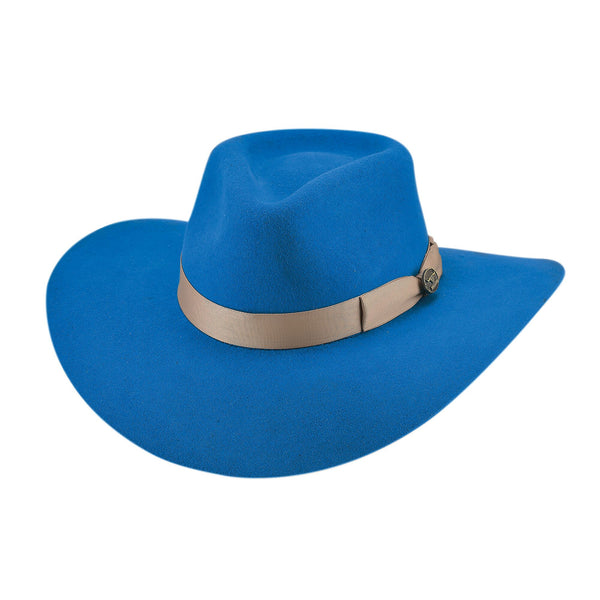 Bullhide Hats 0811B Fashion Felt Steet Gossip Blue