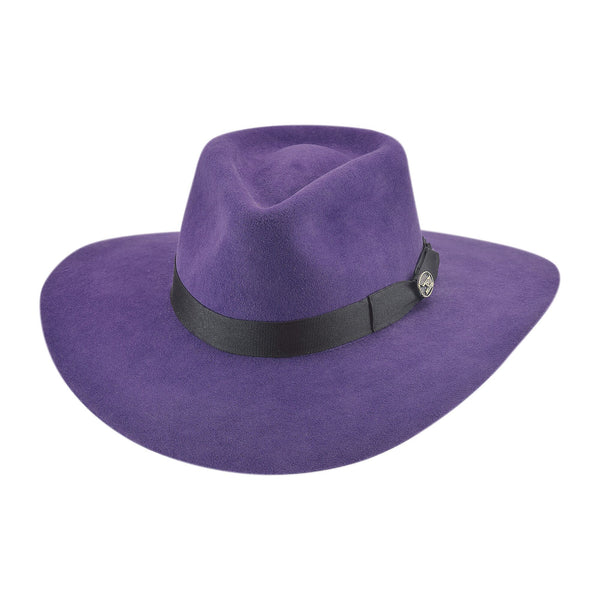 Bullhide Hats 0811PU Fashion Felt Street Gossip Purple
