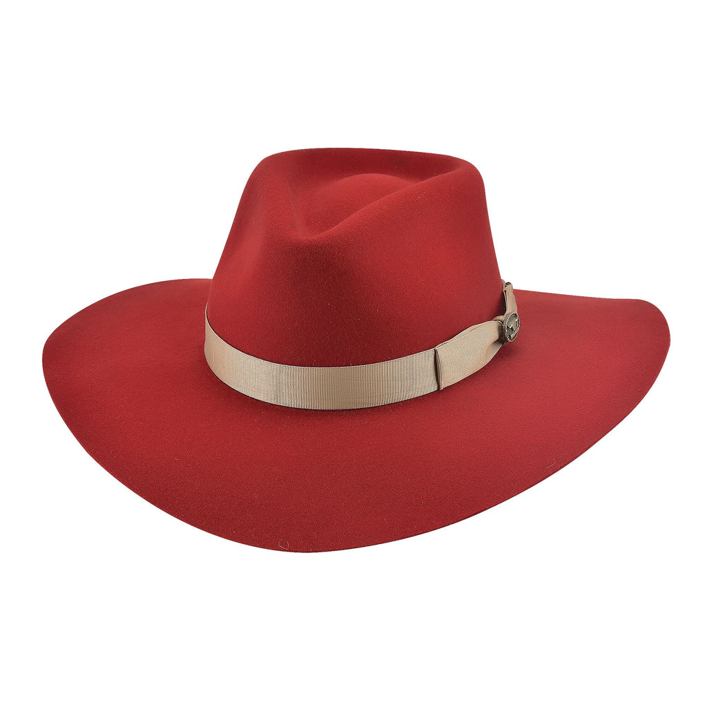 Bullhide Hats 0811R Fashion Felt Street Gossip Red