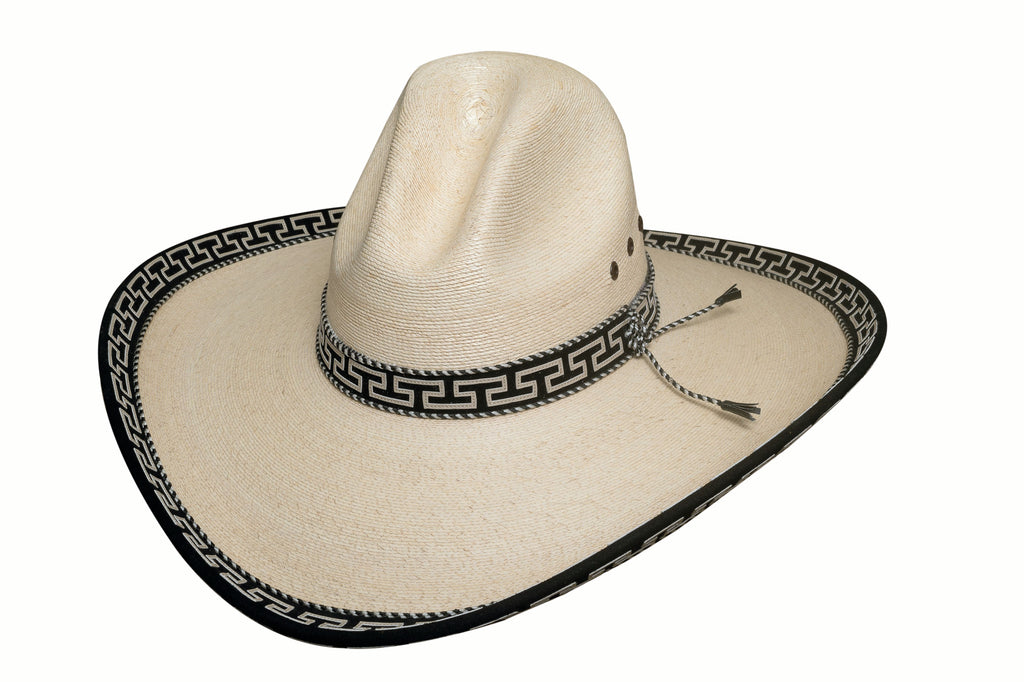 Bullhide Hats Palm Leaf Shooting Fever Front #5002821