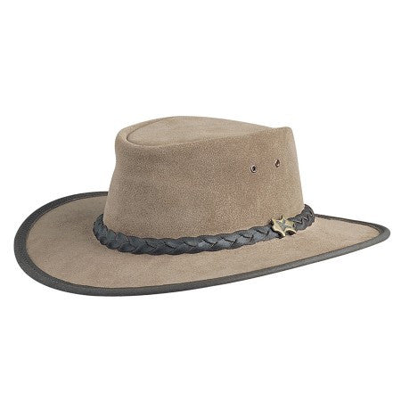 Conner Handmade Hats Bush Walker Moose Suede