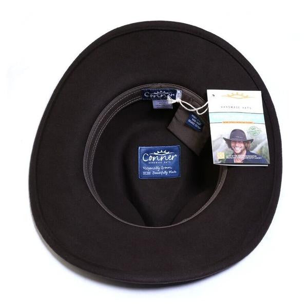Conner Handmade Hats Cowboy Western Style Crossroads Interior
