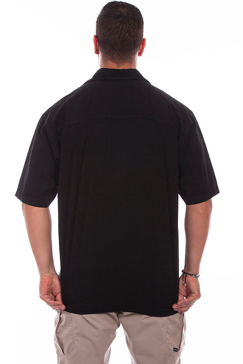 Farthest Point Collection Short Sleeve Calypso Black Back