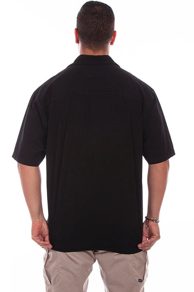 Farthest Point Collection Short Sleeve Calypso Black Front