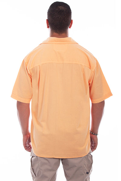 Farthest Point Collection Short Sleeve Calypso Papaya Front