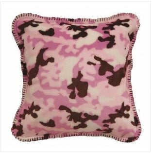 Denali Blankets Pink Camouflage Pillow