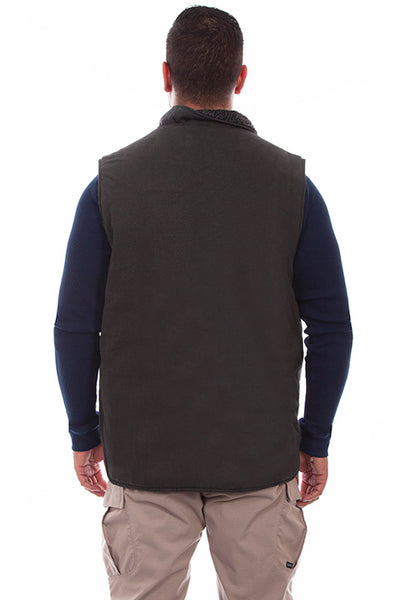 Scully Men's Farthest Point Outdoor Canvas Vest Front