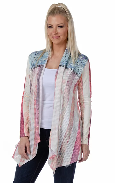 Liberty Wear Cardigan True Glory Front #118356