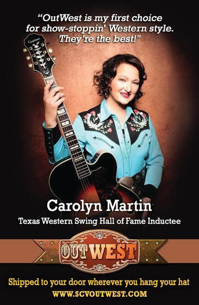CD Cover Carolyn Martin: Songs of Patsy Cline