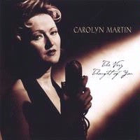 CD Cover Carolyn Martin: The Very Thought of You