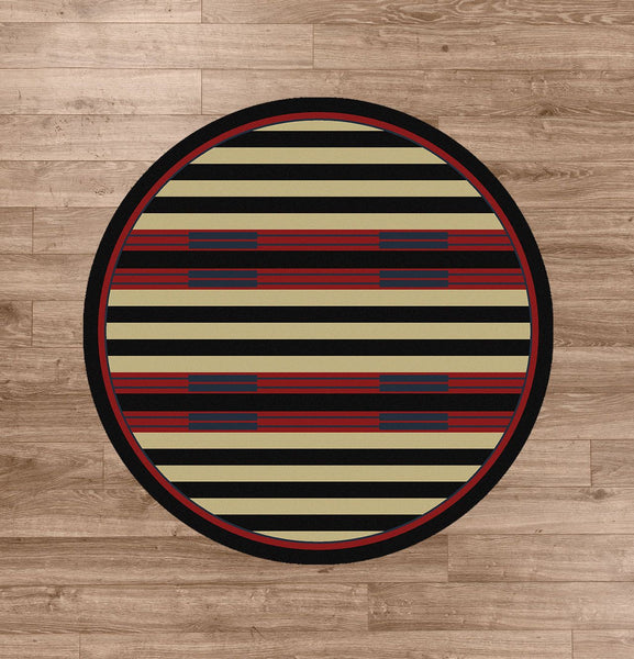 American Dakota Rug Chief Stripe Rectangle