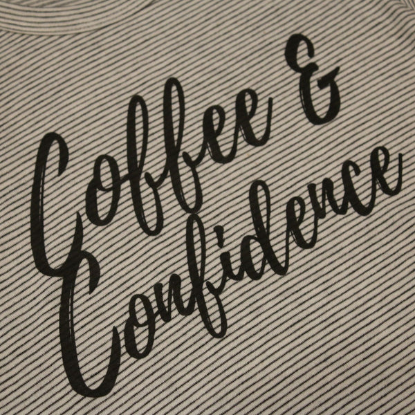 Original Cowgirl Clothing Ladies' T-Shirt Coffee & Confidence