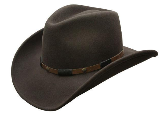 Conner Handmade Hats Cowboy The Roper Wool Brown