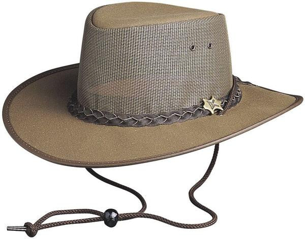 Conner Handmade Hats: Cool As A Breeze Brown Western Style