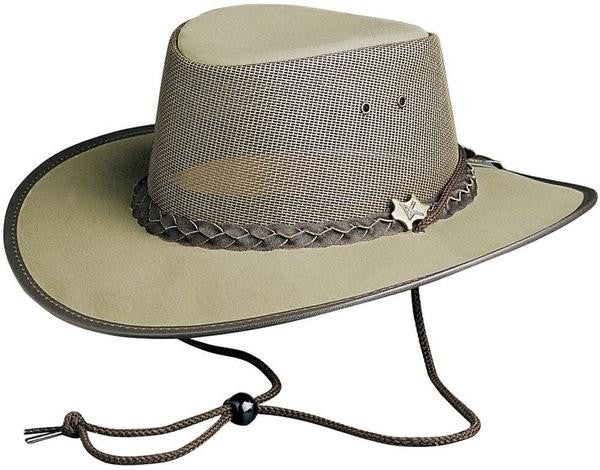 Conner Handmade Hats: Cool As A Breeze Khaki Western Style