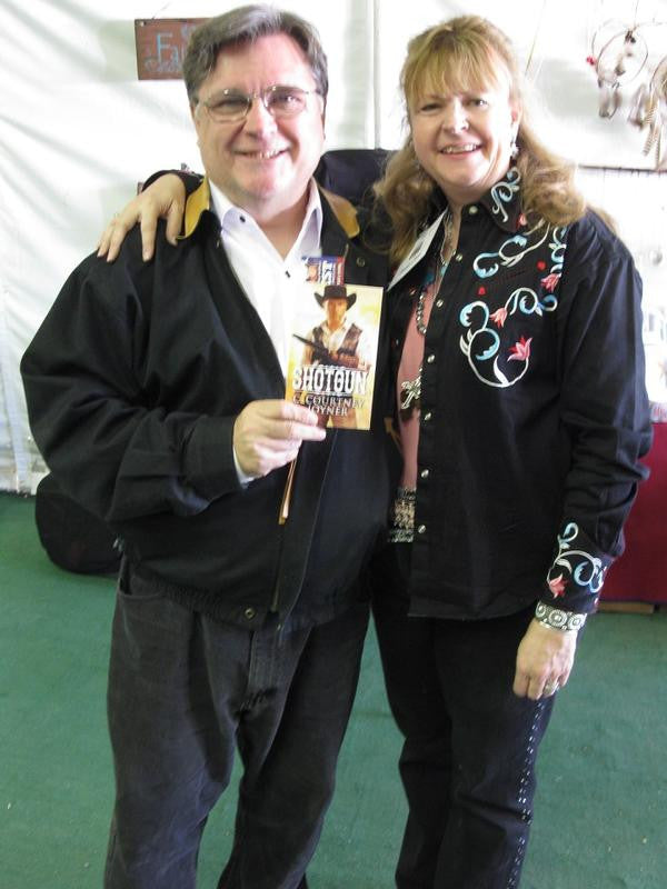 C. Courtney Joyner (L) 2014 Buckaroo Book Shop, Santa Clarita Cowboy Festival