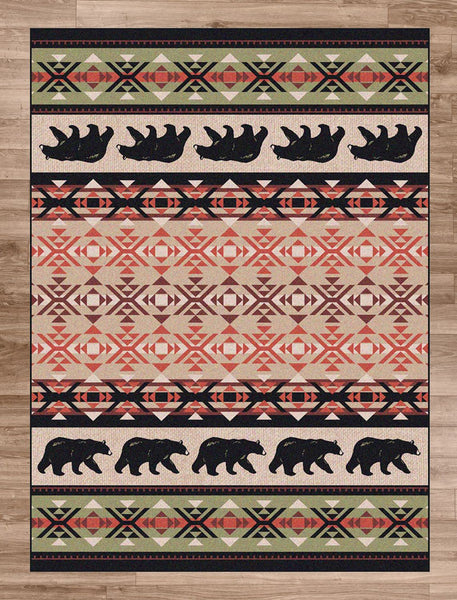 American Dakota Cozy Bears Rug