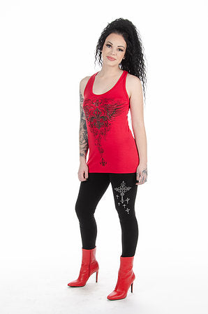 Liberty Wear Cross My Heart Leggings #115005