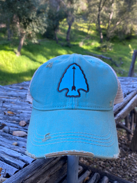 Original Cowgirl Clothing Dakota Arrowhead Turquoise #2702013