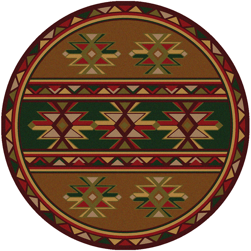 American Dakota Area Rug Dakota Star Round