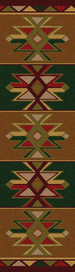 American Dakota Area Rug Dakota Star Runner