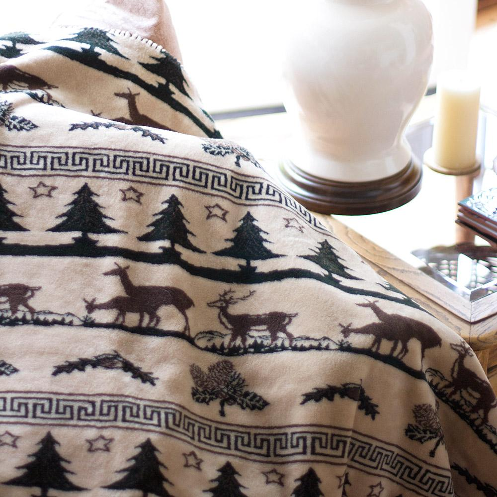 Denali Blankets Deer Haven Blanket