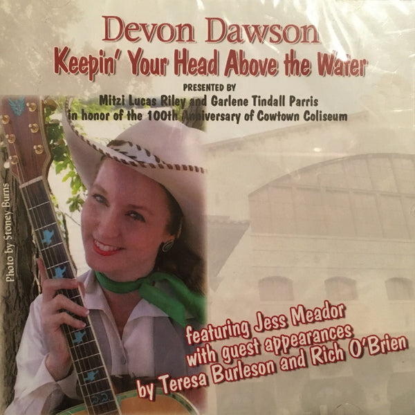 CD Keepin' Your Head Above The Water by Devon Dawson