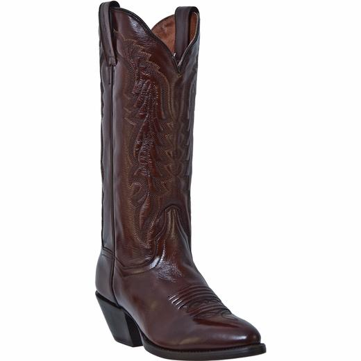 Dan Post Ladies' MIstie Brown Leather Boot Front