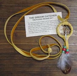 Authentic Navajo Dream Catcher Necklace