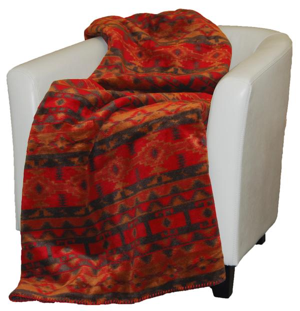 Denali Blankets Earth Spirit Throw Blanket Front on Chair