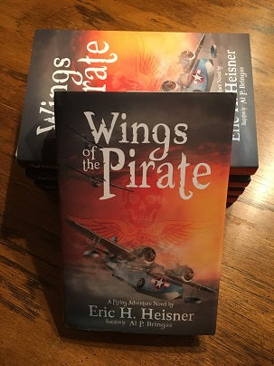 Wings of the Pirate Book Cover by Eric H. Heisner & Al P. Bringas