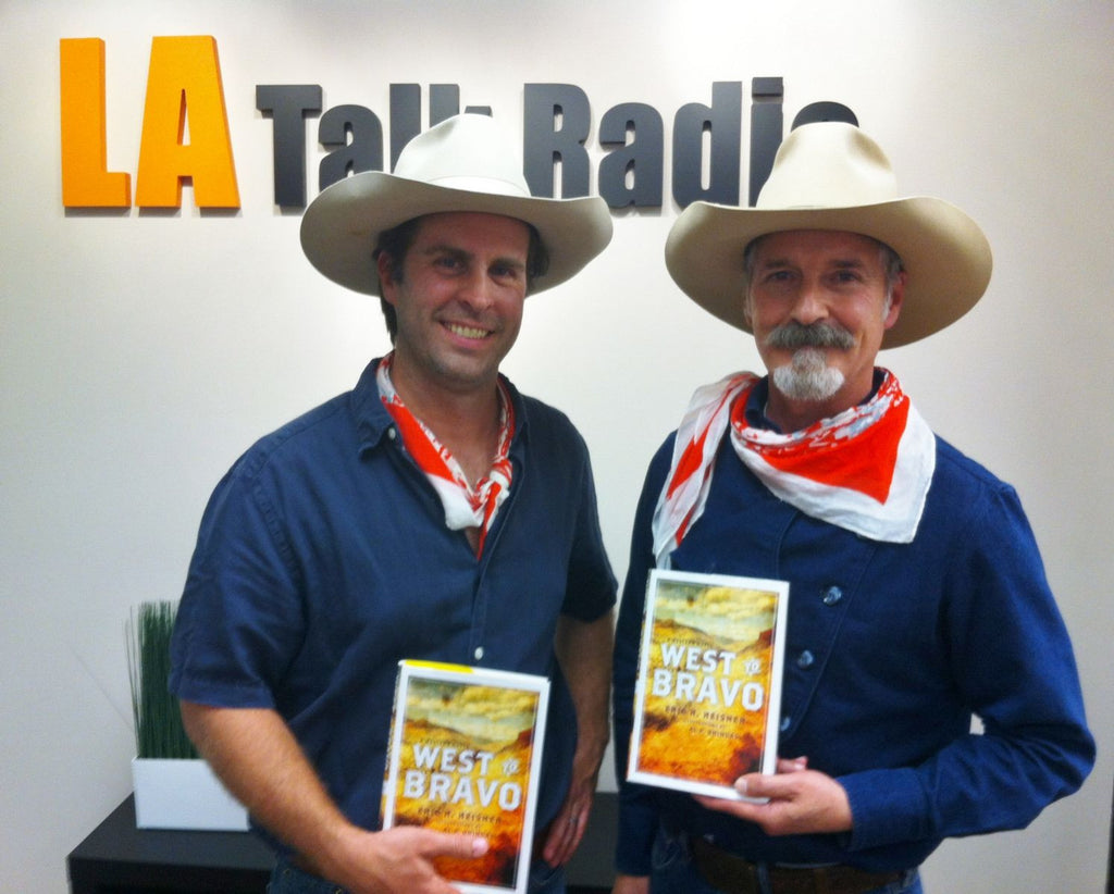 Author Eric H. Heisner and Artist Al P. Bringas, The Writer's Block Radio Show, LA Talk Radio