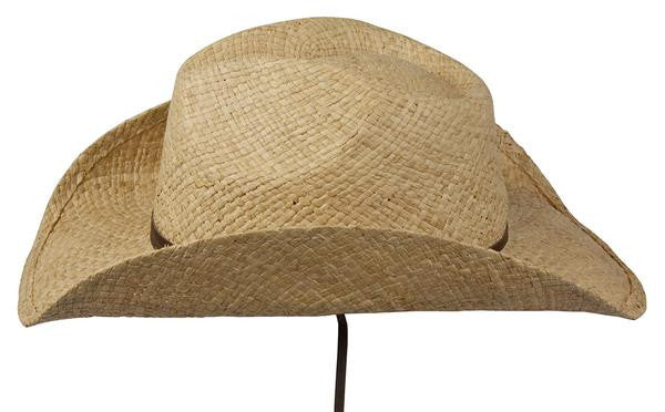 Conner Handmade Hats Raffia Original Style Side View