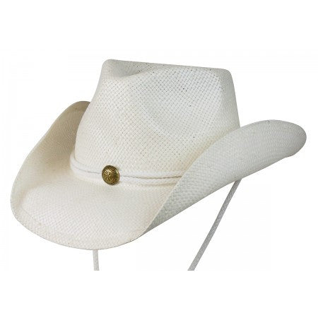 Conner Handmade Hats Raffia Fairhope White