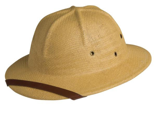 Conner Handmade Hats Pith Helmet Natural Front