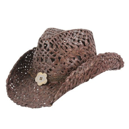Conner Handmade Hats San Diego Maize Western Style Dark Brown