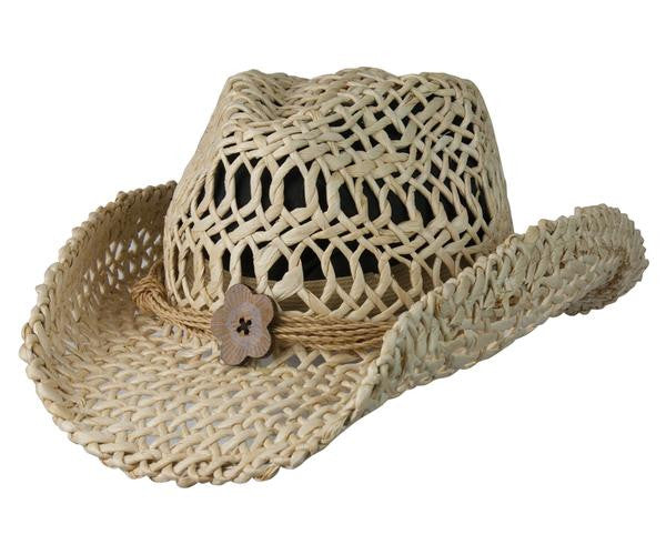 Conner Handmade Hats San Diego Maize Western Style Natural